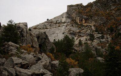Le site historique du Claps à Luc en Diois
