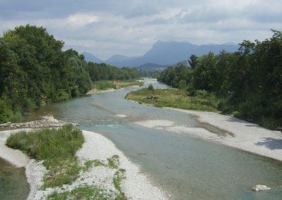 Rivière Drôme et Trois Becs